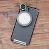 Revolver Lens Camera Kit for iPhone 8 Plus / 7 Plus- Gunmetal Edition