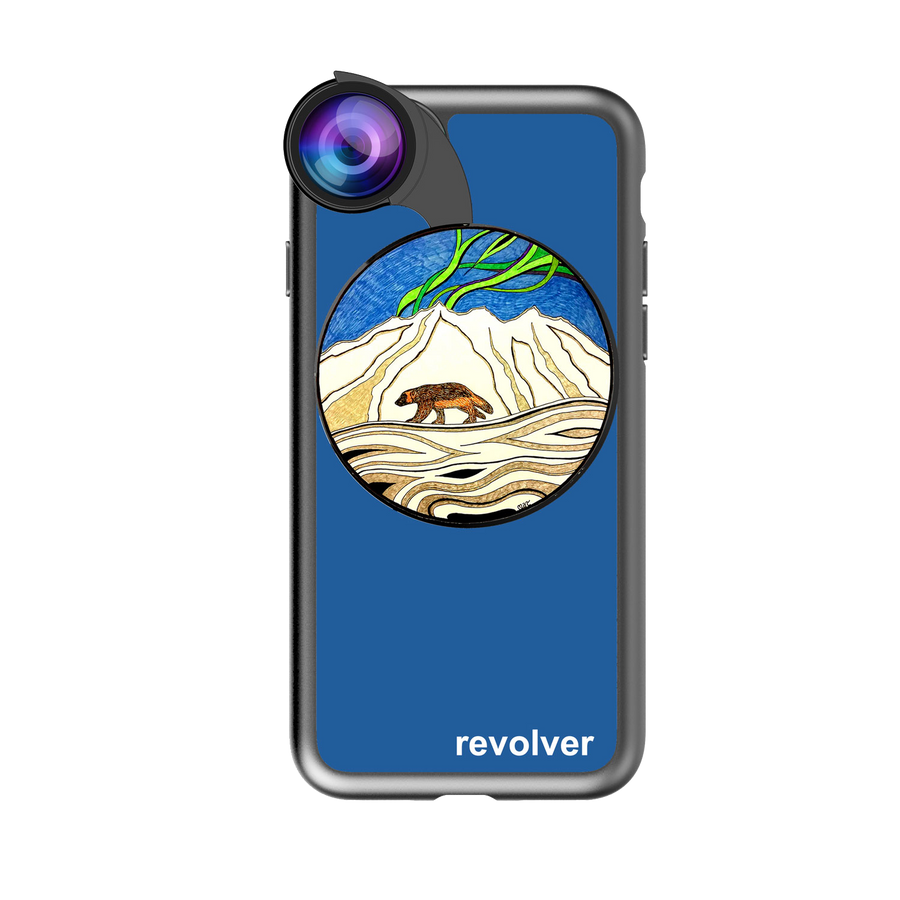 iPhone 7 / 8 Revolver M Series Lens Kit - Wolverine Blue
