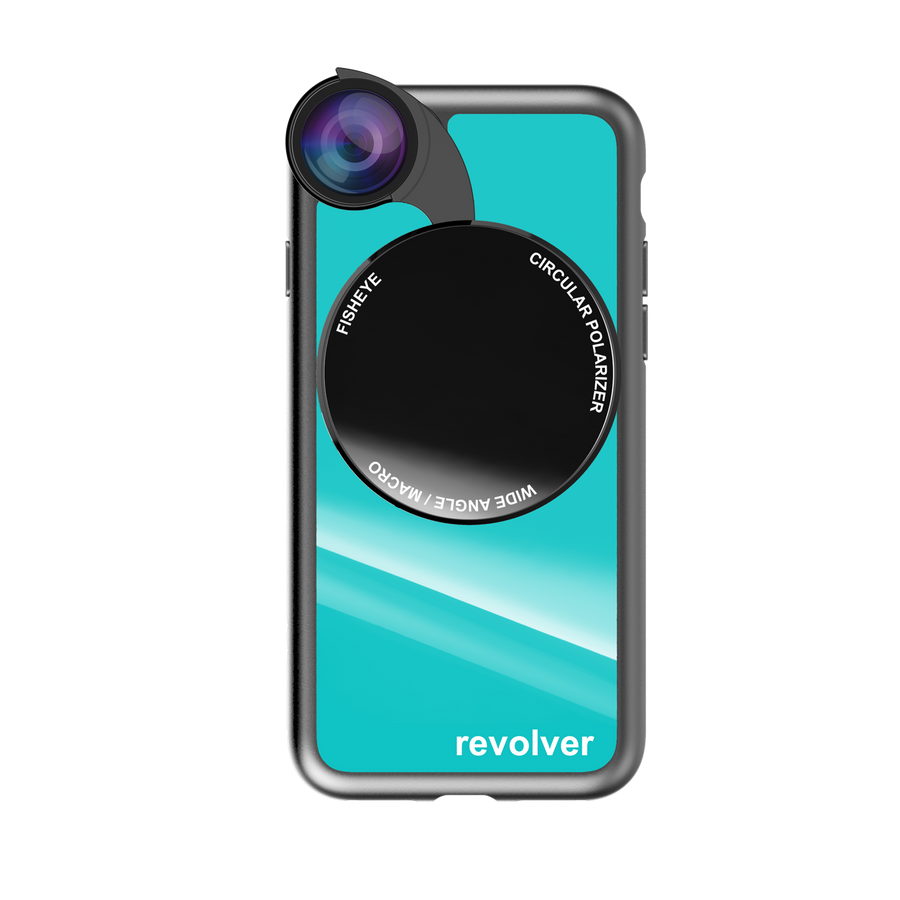 iPhone 7 / 8 Revolver M Series Lens Kit - Gloss Teal
