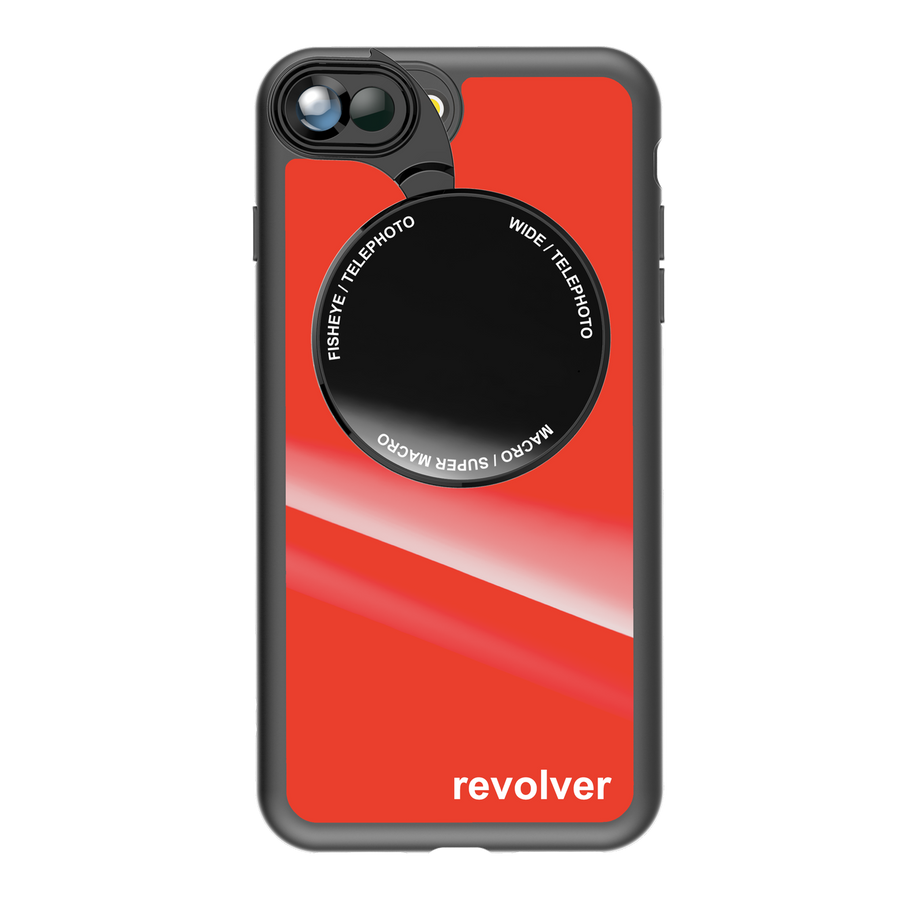 iPhone 7 Plus / 8 Plus Revolver M Series Lens Kit - Gloss Red
