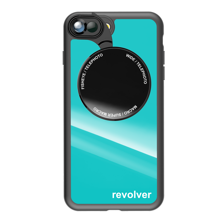 iPhone 7 Plus / 8 Plus Revolver M Series Lens Kit - Gloss Teal