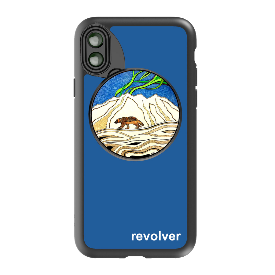 iPhone X / XS Revolver M Series Lens Kit - Wolverine Blue
