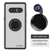 4-in-1 Revolver Lens Kit for Samsung Galaxy Note 8 - Carbon Fiber (White)