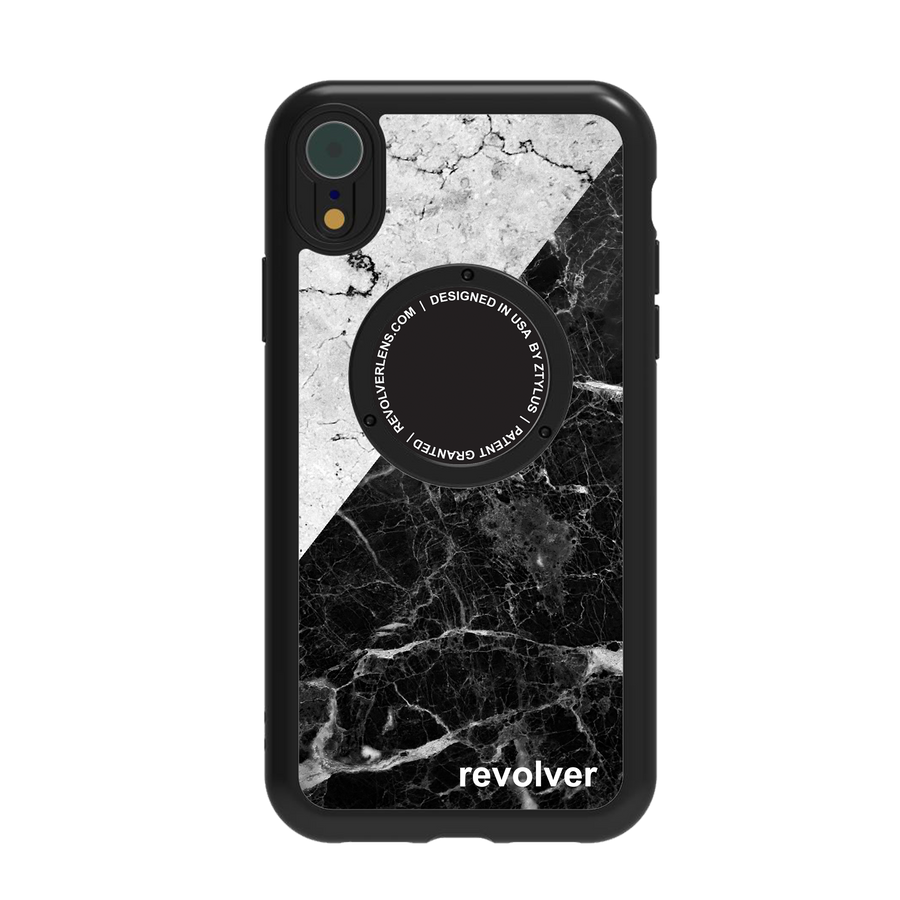 iPhone XR Revolver M Series Lens Kit - Mix Marble