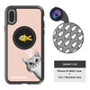 iPhone Xs Max Revolver M Series Lens Kit - Sneaky Cat