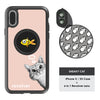 iPhone X / XS Revolver M Series Lens Kit - Sneaky Cat