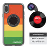 iPhone X / XS Revolver M Series Lens Kit - Rainbow Stripes