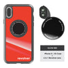 iPhone X / XS Revolver M Series Lens Kit - Gloss Red