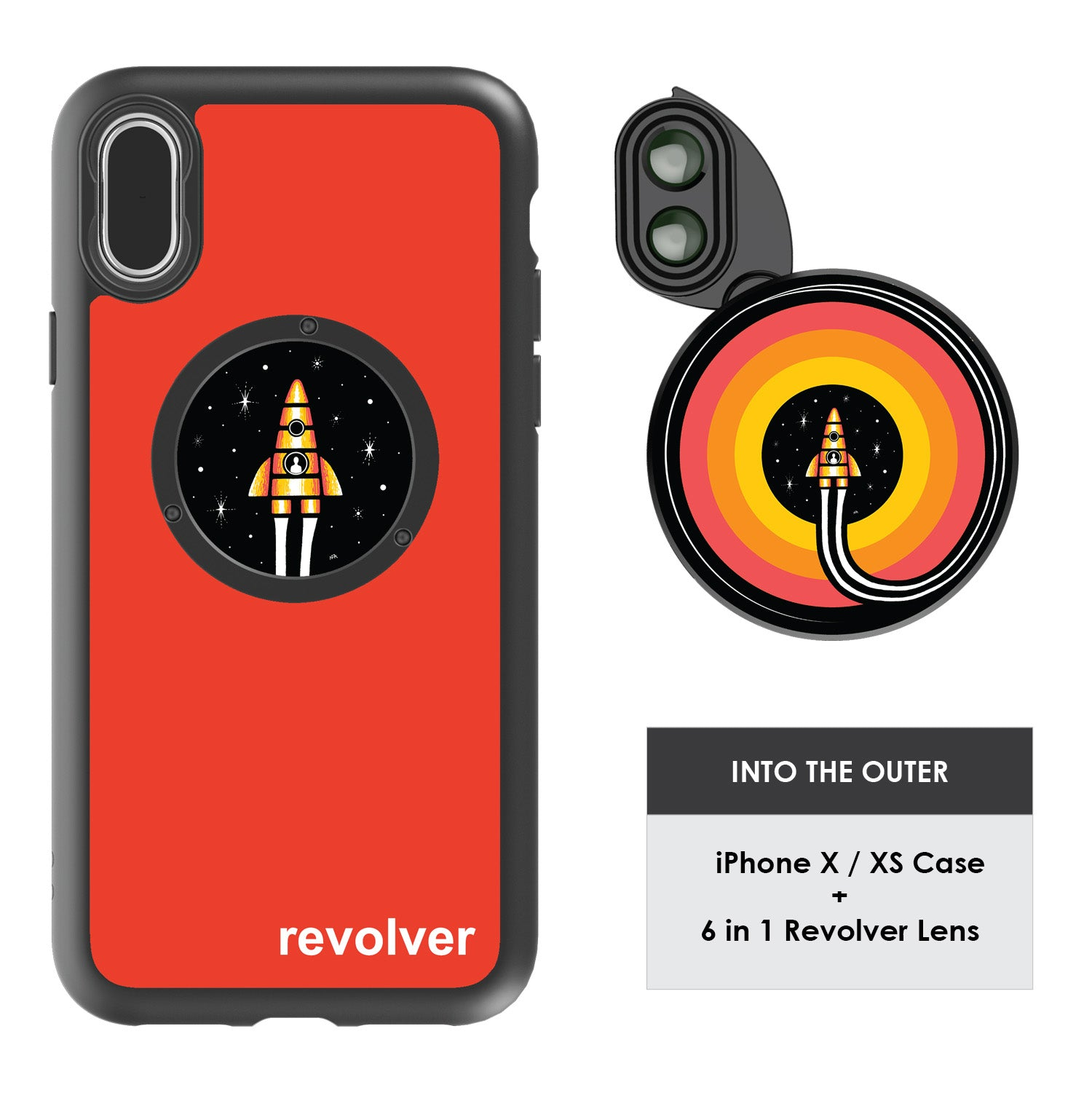 iPhone X / XS Revolver M Series Lens Kit - Into The Outer