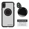 iPhone X / XS Revolver M Series Lens Kit - Carbon Fiber (White)