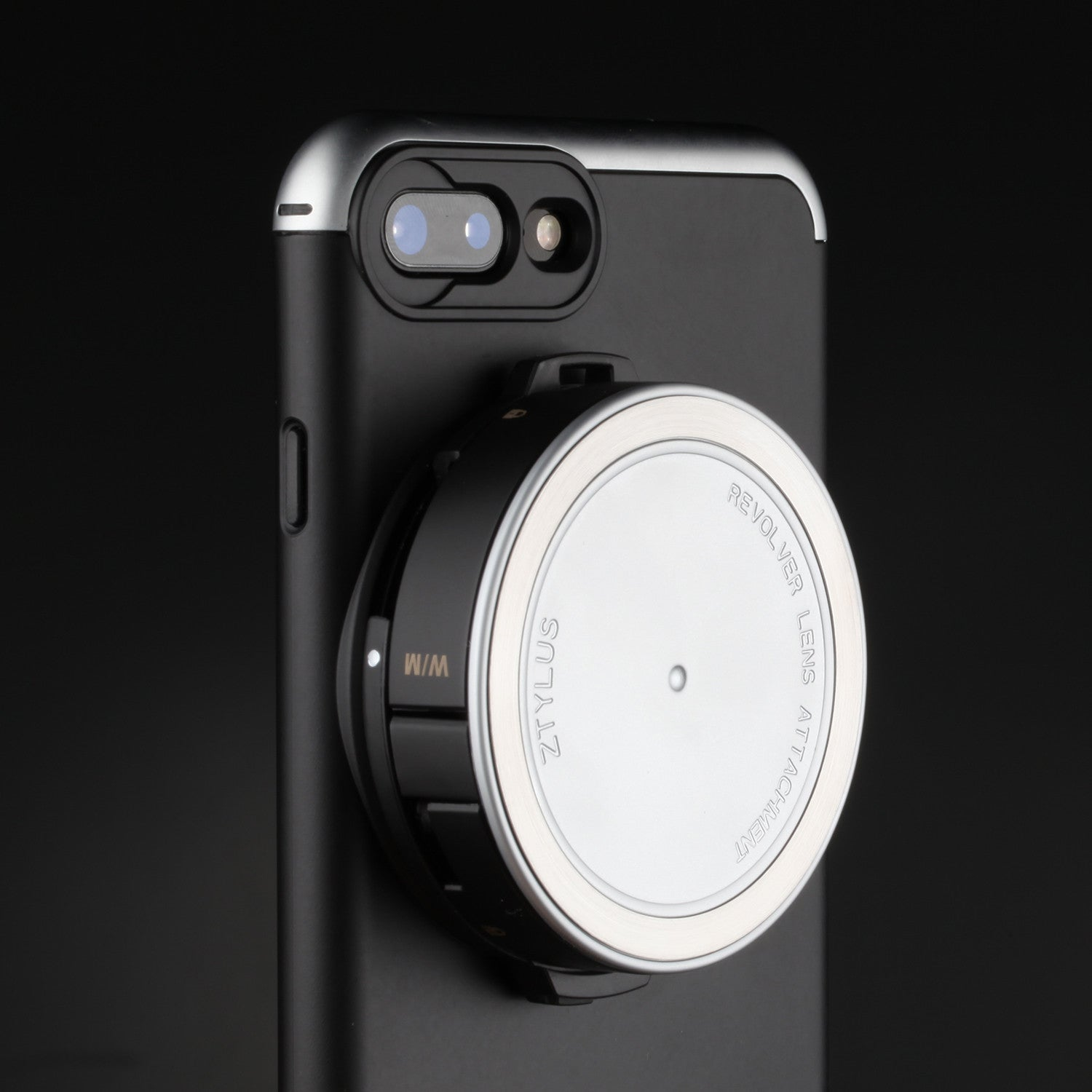 premium selection fd4f8 c794e Revolver Lens Camera Kit for iPhone 8 Plus / 7 Plus - Silver Edition