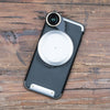 Revolver Lens Camera Kit for iPhone 8 / 7 - Silver Edition