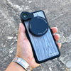 iPhone 7 Plus / 8 Plus Revolver M Series Lens Kit - Grey Wood Pattern