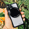 iPhone X Revolver M Series Lens Kit - Carbon Fiber (White)