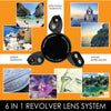 Revolver M Series Lens Kit - Rainbow Stripes