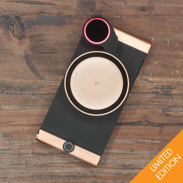 Metal Series Rose Gold Camera Kit (Limited Edition) for iPhone 5/5s