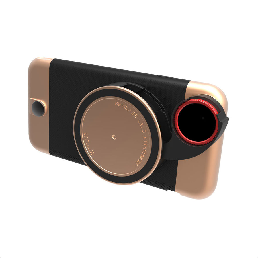 Metal Series Rose Gold Camera Kit (Limited Edition) for iPhone 6s