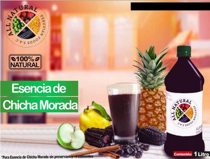 ESENCIA CHICHA MORADA ALL NATURAL