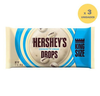 CHOCOLATE HERSHEY'S COOKIES´N´CREME DROPS