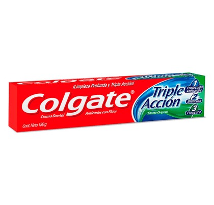 PASTA DENTAL COLGATE TRIPLE ACCION