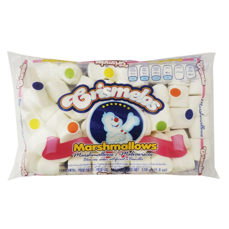 CRISMELOS MARSHMELLOWS BLANCO BOLSA