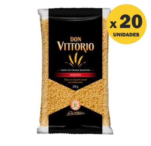 FIDEO DON VITTORIO SOPA MUNICION