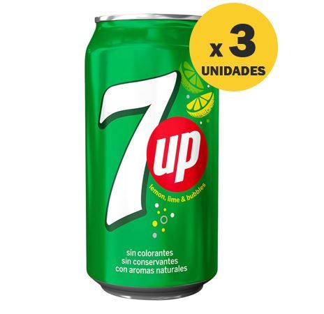 GASEOSA 7UP EN LATA