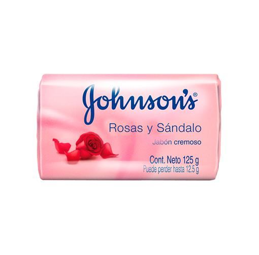 JABON JOHNSONS CREMA HUMEC ROSADO