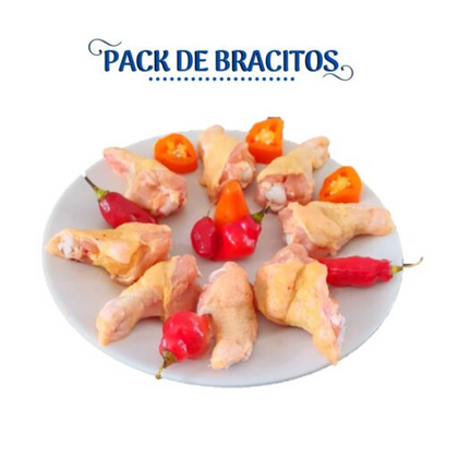PACK DE BRAZITOS CHIMU