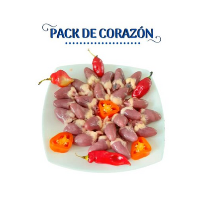 PACK DE CORAZON CHIMU