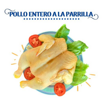 POLLO ENTERO A LA PARRILLA CHIMU