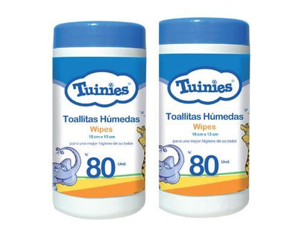 TOALLAS HUMEDAS TUINIES WIPES