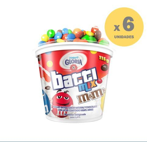 YOGURT BATTIMIX VASO CON COPA M&M
