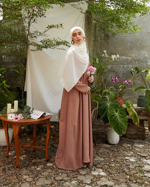 Ayana Instant Hijab in Broken White