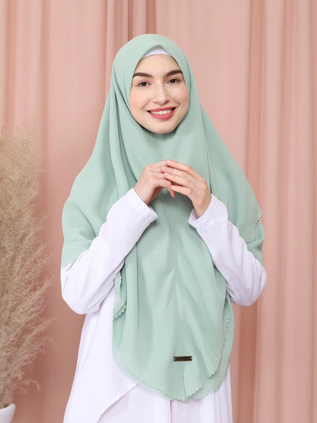 Moira Khimar in Sage Green