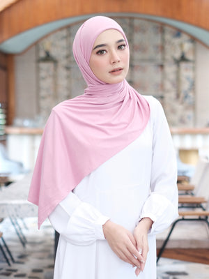 Zaira Instant Hijab in Flamingo