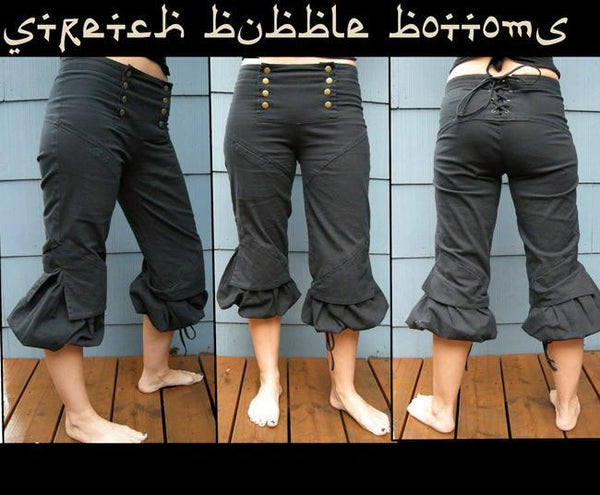 Bottoms - Stretch Bubble Bottoms By Rabbit & Empee
