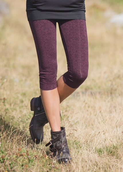 Leggings - Spectrum 3/4 Leggings By Nomads Hemp Wear