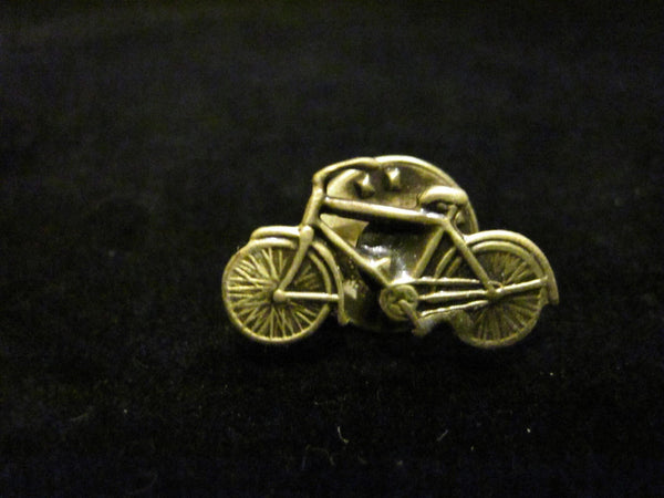 Gold Bicycle Pin from Canada