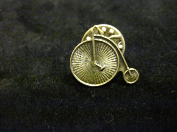 Gold Unicycle Pin- Adorit Boutique