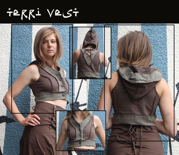 Vest - Terri Vest By Rabbit & Empee