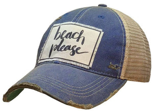 Vintage Distressed Trucker Hats