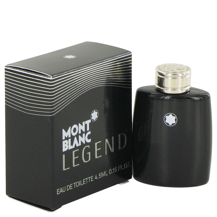 Montblanc Legend by Mont Blanc 0.15 oz Mini EDT for Men - My Brooklyn