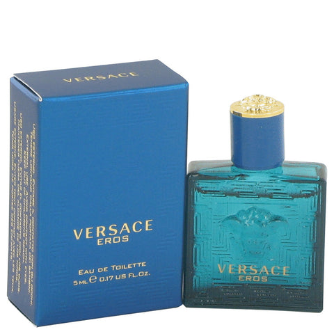 Versace Eros by Versace 0.16 oz Mini EDT for Men - My Brooklyn