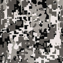 Load image into Gallery viewer, Gray Digi Camo Pleated Mask