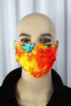 Load image into Gallery viewer, Tie Dye Pleated Mask