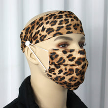 Load image into Gallery viewer, Cheetah Head Band