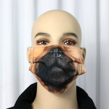 Load image into Gallery viewer, Pug Novelty Pleated Mask