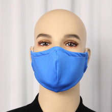 Load image into Gallery viewer, Solid Royal Blue Fitted Mask