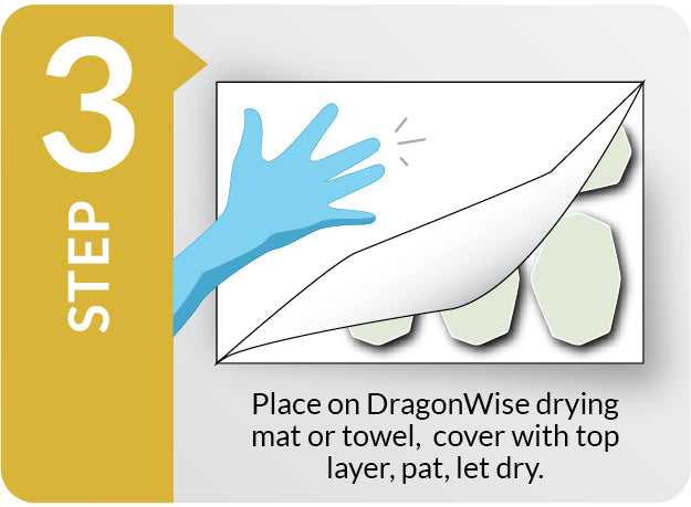 DragonWise Filter Care Steam Sanitizing Step 3